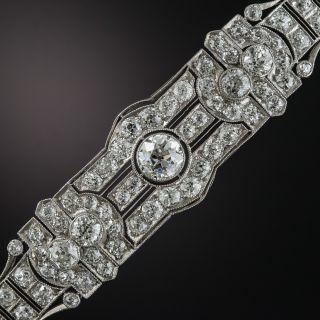 Art Deco Platinum Diamond Bracelet - 1