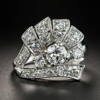 Art Deco/Retro Platinum Diamond Ring