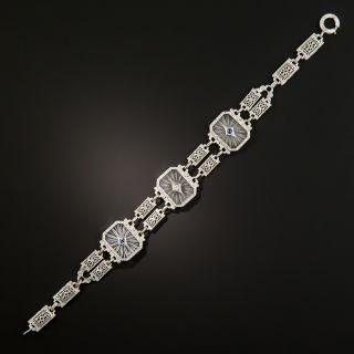 Art Deco Rock Crystal