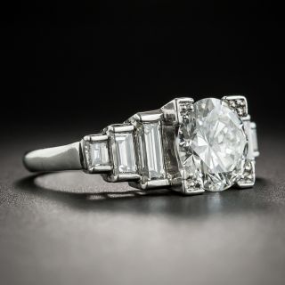 Art Deco Style 2.36 Carat Diamond Ring - GIA G VS1