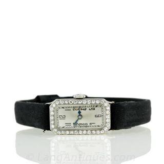 Art Deco Style Diamond Watch