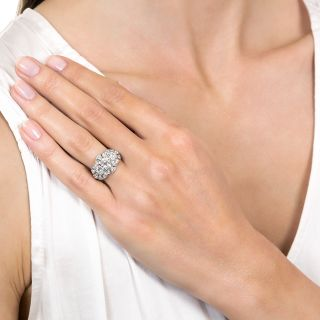 Art Deco Three-Stone Diamond Ring, 1920s-30s