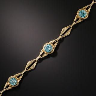 Art Deco Zircon Bracelet by Barrasso & Blasi - 3
