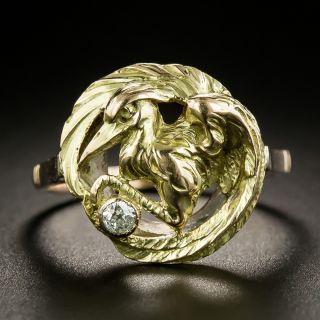 Antique Diamond Heron Ring, Circa 1900s - 2