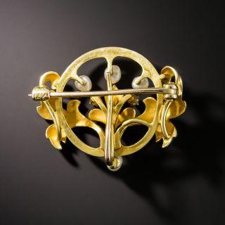 Art Nouveau Pin by Krementz
