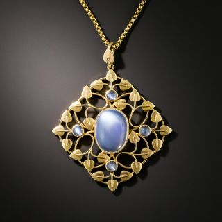 Arts & Crafts Moonstone Necklace - 2