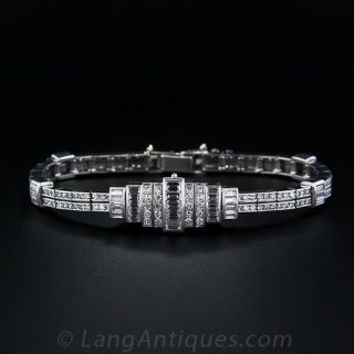 Audemars Piguet Platinum Diamond Bracelet Watch