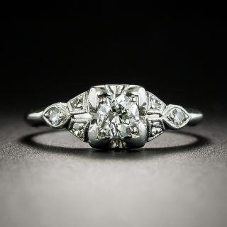 Australian Art Deco .35 Carat Diamond Engagement Ring by Lyceum - 1