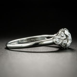 Australian Art Deco .35 Carat Diamond Engagement Ring by Lyceum