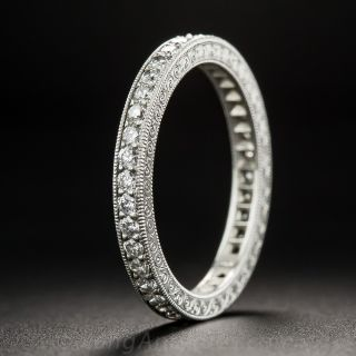 Bead Set Diamond Eternity Band - Size 6 1/4 - 2
