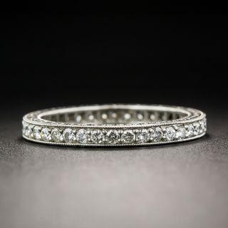 Bead Set Diamond Eternity Band - Size 6 1/4