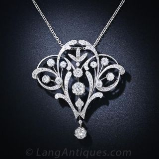 Belle Epoque French Necklace