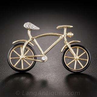 Bicycle Pin - 1