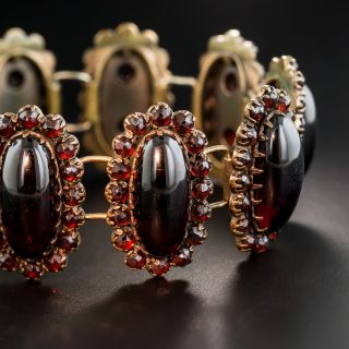 Bohemian Garnet Bracelet - 2