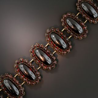 Bohemian Garnet Bracelet