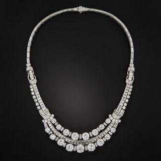 Boucheron Platinum Diamond Necklace - 5