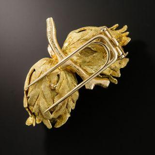 Buccellati Double Acorn Brooch