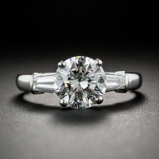 Bulgari 1.50 Ct. Platinum Diamond Engagement Ring - GIA G VS1 - 1