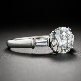 Bulgari 1.50 Carat. Platinum Diamond Engagement Ring - GIA G VS1