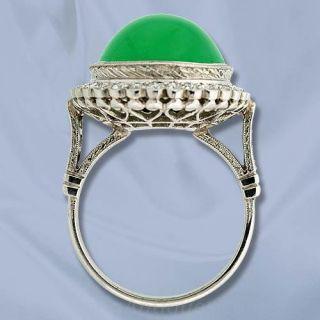 Burmese Jade Ring