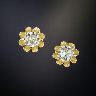 Buttercup Diamond Stud Earrings - 2