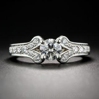 Cartier .55 Carat Diamond Ballerine Ring - 1