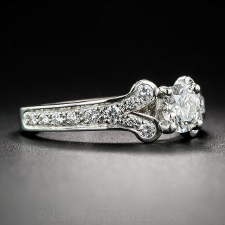 Cartier .55 Carat Diamond Ballerine Ring - GIA
