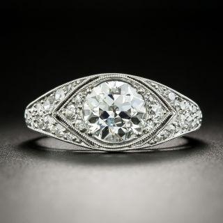 Cartier Art Deco 1.39 Carat Diamond Engagement Ring - GIA H VS2 - 2