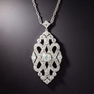 Cartier Art Deco Diamond Necklace, French - 1