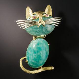 Cartier Cool Cat Pin