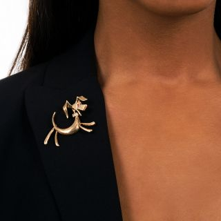 Cartier Dog Brooch
