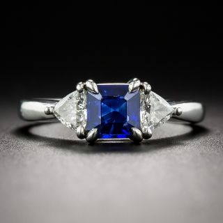 Cartier Sapphire and Diamond Ring