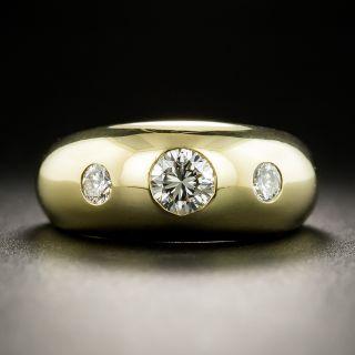 Cartier Three-Stone Diamond Ring - 2
