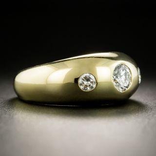 Cartier Three-Stone Diamond Ring