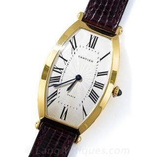 Cartier Tonneau Watch