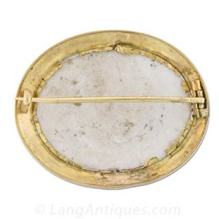 Cherub Miniature Brooch