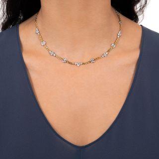 David Webb Fancy Diamond Chain