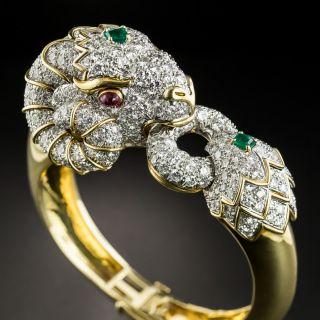 David Webb Rams Head Bracelet from the Animal Kingdom Collection - 2