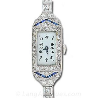Deco Diamond Dress Watch
