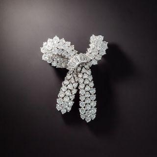 Diamond Bow Brooch by Kurt Wayne - 1