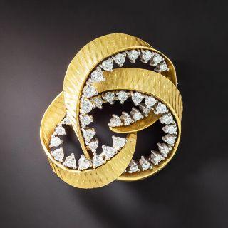 Diamond Knot Motif Pin - 4