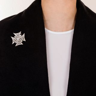 Diamond Maltese Cross