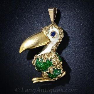 Dodo Bird Pin