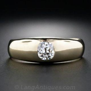 Dutch Antique .45 Carat Diamond Solitare Ring