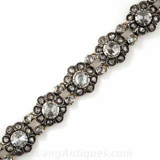 Dutch Rose-Cut Diamond Bracelet - 1