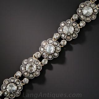 Dutch Rose-Cut Diamond Bracelet
