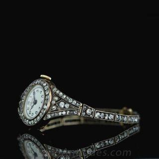 Early 1900's Diamond Wrist Watch
