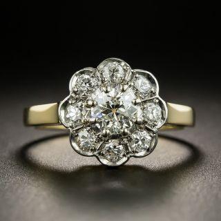 Vintage Diamond Cluster Ring - 2
