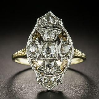 Early 20th Century Diamond Dinner Ring - 1