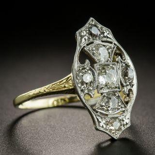 Early 20th Century Diamond Dinner Ring